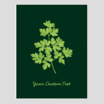 Parsley Postcard