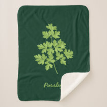 Parsley Sherpa Blanket