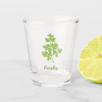 Parsley Shot Glass
