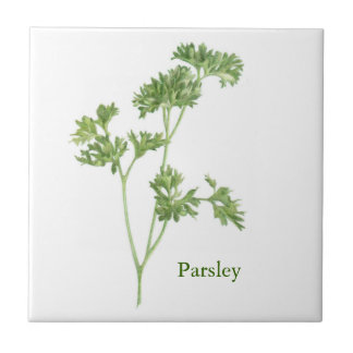 Parsley - Small Ceramic Tile