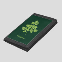 Parsley Trifold Wallet