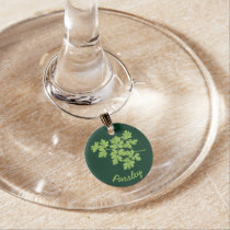 Parsley Wine Charm