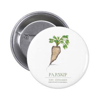 parsnip, tony fernandes pinback buttons