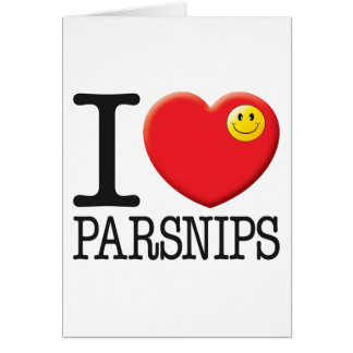Parsnips Greeting Card