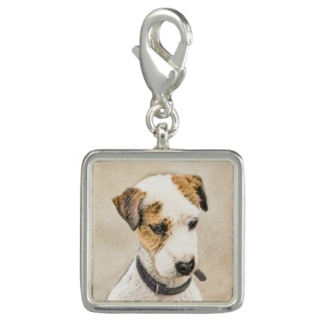 Parson Jack Russell Terrier Painting - Dog Art Charm