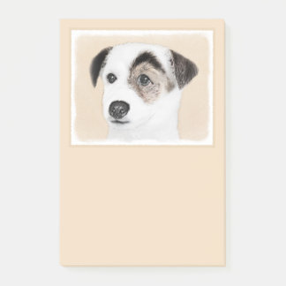 Parson Jack Russell Terrier Post-it Notes