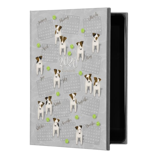 "Parson Jack Russell Terriers gray 2020 calendar iPad Pro 9.7"" Case"