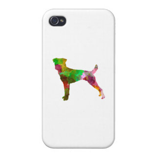 Parson Russel Terrier in watercolor iPhone 4/4S Case