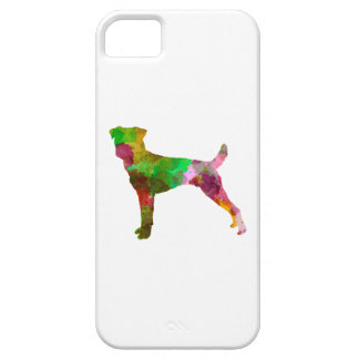 Parson Russel Terrier in watercolor iPhone SE/5/5s Case