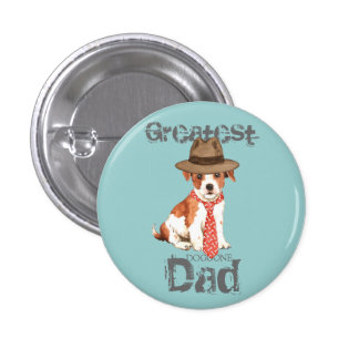 Parson Russell Dad Pinback Button