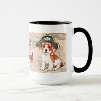 Parson Russell Pirate Mug