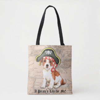 Parson Russell Pirate Tote Bag