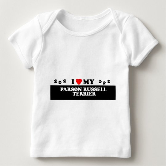 PARSON RUSSELL TERIER_ BABY T-Shirt