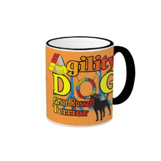 Parson_Russell_Terrier_Agility Ringer Mug