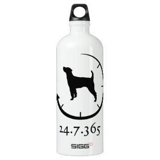 Parson Russell Terrier Aluminum Water Bottle