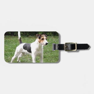 parson russell terrier bag tag