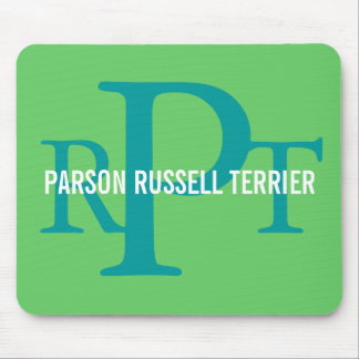 Parson Russell Terrier Breed Monogram Mouse Pad