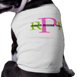Parson Russell Terrier Breed Monogram Shirt