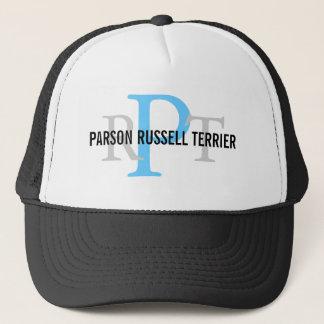 Parson Russell Terrier Breed Monogram Trucker Hat