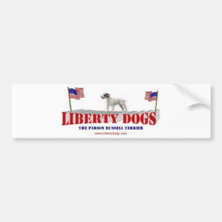 Parson Russell Terrier Bumper Stickers