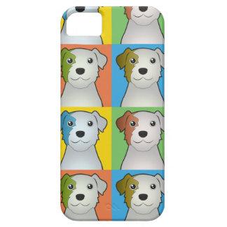 Parson Russell Terrier Cartoon Pop-Art iPhone SE/5/5s Case