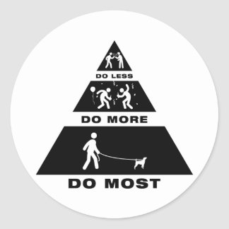 Parson Russell Terrier Classic Round Sticker