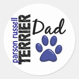 Parson Russell Terrier Dad 2 Sticker