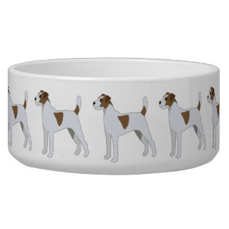 Parson Russell Terrier  Dog Breed Illustration Bowl