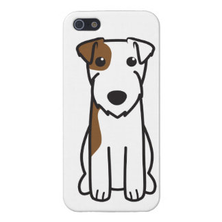 Parson Russell Terrier Dog Cartoon Case For iPhone SE/5/5s
