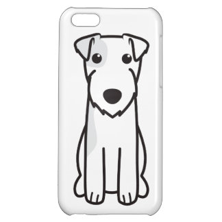 Parson Russell Terrier Dog Cartoon Cover For iPhone 5C