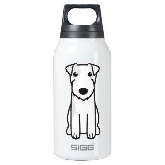 Parson Russell Terrier Dog Cartoon Insulated Water Bottle