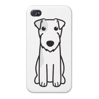 Parson Russell Terrier Dog Cartoon iPhone 4/4S Covers