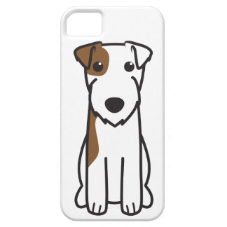 Parson Russell Terrier Dog Cartoon iPhone SE/5/5s Case