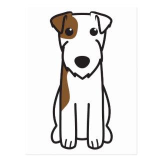 Parson Russell Terrier Dog Cartoon Postcard