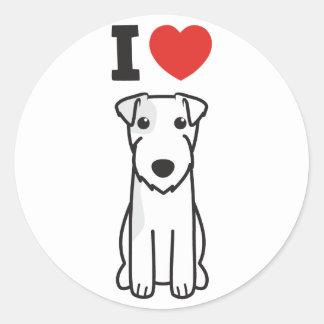 Parson Russell Terrier Dog Cartoon Stickers