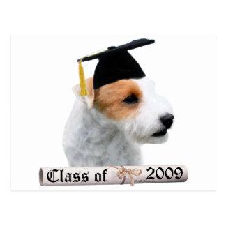 Parson Russell Terrier Grad 09 Postcard