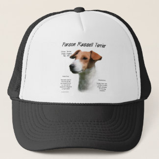 Parson Russell Terrier History Design Trucker Hat