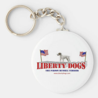 Parson Russell Terrier Key Chain