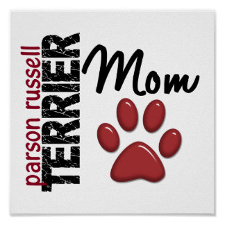 Parson Russell Terrier Mom 2 Posters