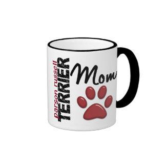 Parson Russell Terrier Mom 2 Ringer Mug