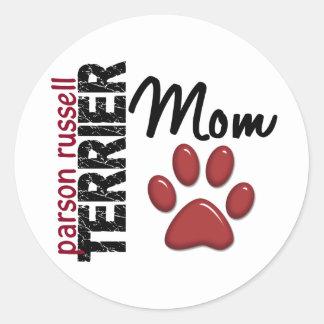 Parson Russell Terrier Mom 2 Sticker