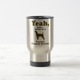 Parson Russell Terrier 15 Oz Stainless Steel Travel Mug