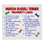 PARSON RUSSELL TERRIER PL2 POSTER