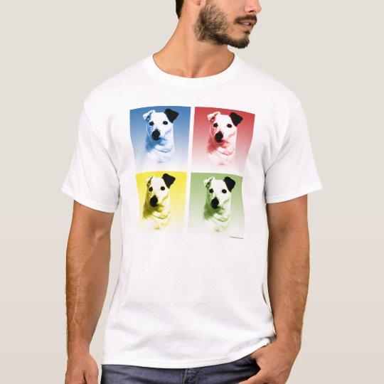 Parson Russell Terrier Pop Art T-Shirt