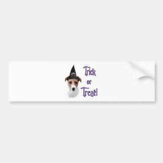 Parson Russell Terrier Trick Bumper Sticker