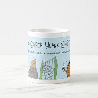 Parson Spider hears a confession Coffee Mug