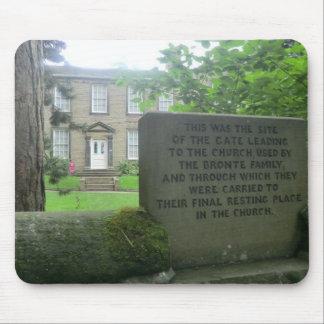 Parsonage de Bronte en Haworth Alfombrillas De Ratones