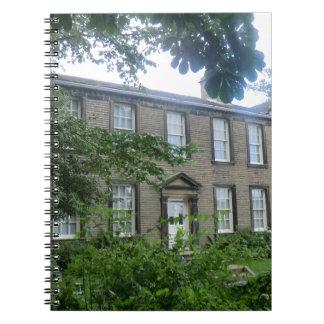 Parsonage de Bronte en Haworth, Yorkshire Cuaderno