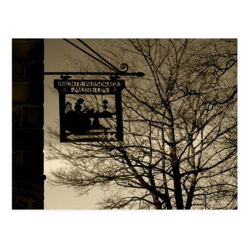 Parsonage Haworth - postal de Bronte