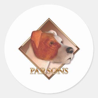 Parsons Classic Round Sticker